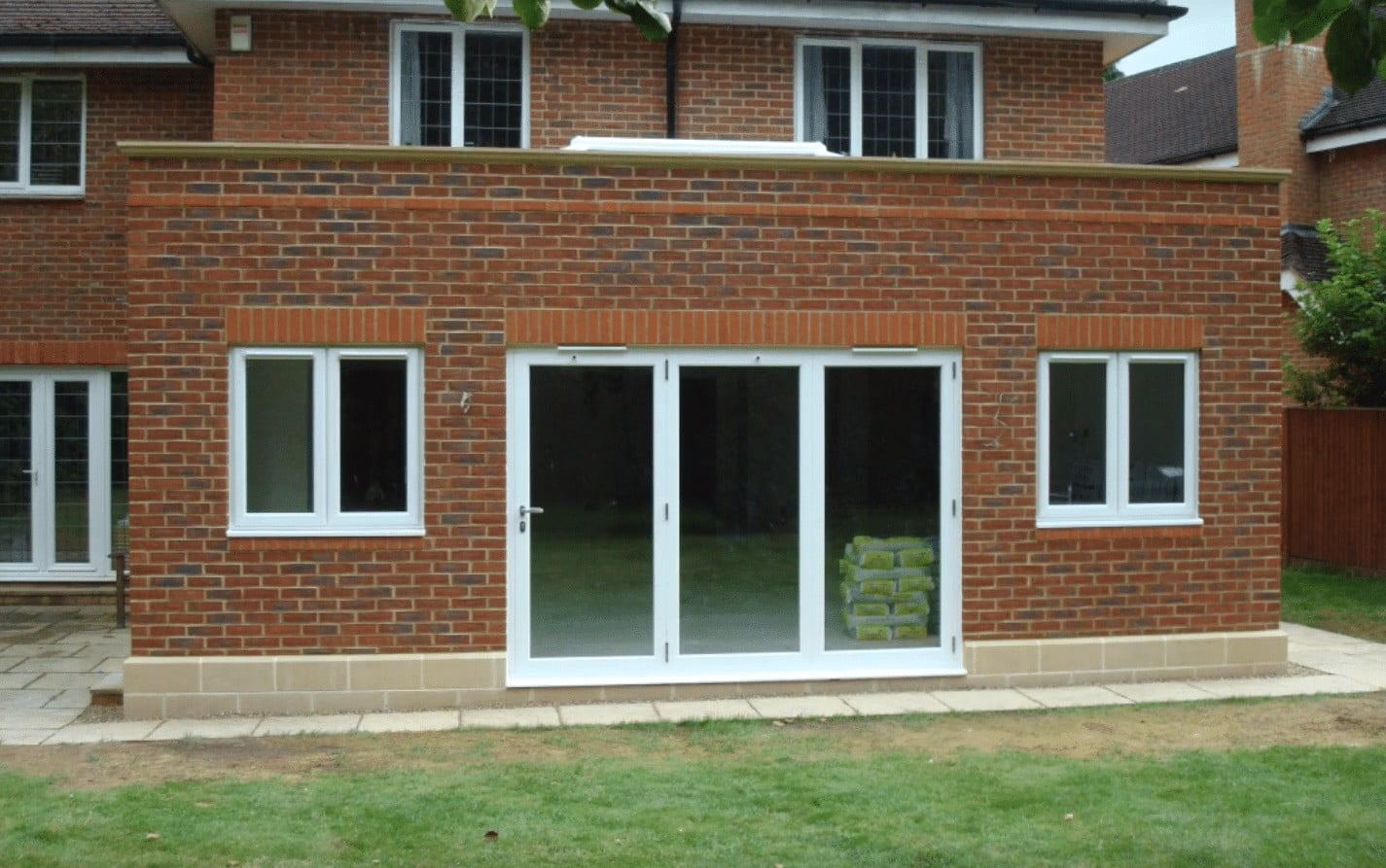 A SIPS Orangery extension project built using non-accredited system