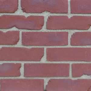 Rustic Sussex Red brick slips